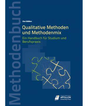 """Buchcover """"Qualitative Methoden und Methodenmix"""" von Dr. Lisa Lüdders"""