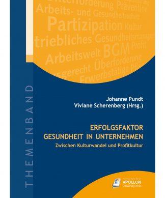 """Buchcover """"Erfolgsfaktor Gesundheit in Unternehmen – Zwischen Kulturwandel und Profitkultur"""""""