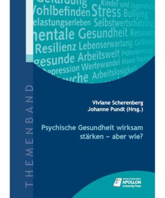 """Buchcover """"Psychische Gesundheit stärken – aber wie?"""""""